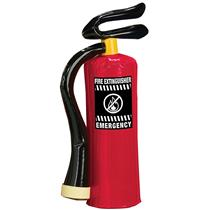Inflatable Fire Extinguisher Prop Fireman Accessory