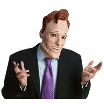 Conan O'Brien Ex Talk Show Host Mask