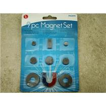 9 Piece Magnet Set, Education, Starter Kit, North, South, Magnetic, Tool,