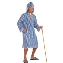 Scrooge Nightshirt Adult Christmas Costume Standard Size