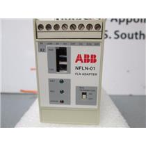 ABB NFLN-01 FLN Adapter Module 24V 3W Din-Rail for VFD Drive