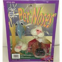 Pet Animal Noses Parrot Beak Dog Nose Rabbit Cat 4 Pack