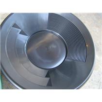 "2 - 10"" Black & Green Gold Pans - Panning - Duel Riffles - Mining Prospecting***"