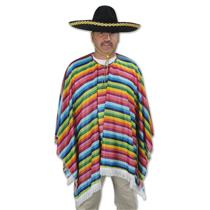 Mexican Serape Adult Costume Shirt
