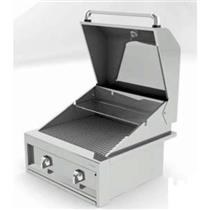 "NIB Alfresco Artisan Series 26"" 2 Burner Built-in Gas Stainless Grill ART26-LP"