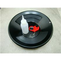 "10"" Black Gold Pan-Snuffer Bottle-Glass Vial-Magnifying Glass-Panning Kit Mining"