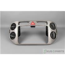 2009-2011 Volkswagen Tiguan Radio Dash Trim Bezel with Vents and Hazard Switch