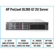 HP ProLiant DL385 G7 Server 2xOpteron 6174 12-Core 2.2GHz + 96GB RAM + 8x300GB
