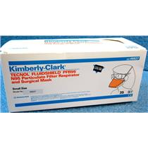 *35pc/BOX* KIMBERLY CLARK 46827 TECHNOL FLUIDSHIELD PFR95 N95 PARTICULATE FILTE