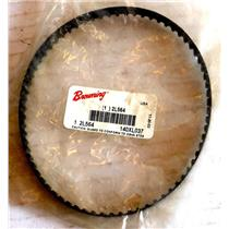 "BROWNING 2L564 TIMING BELT, REPLACES 140XL037, 3/8"" WIDE, 1/5"" PITCH, 14"" LENGTH"