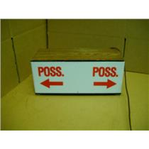 "Team In Possession Sign For Sporting Events 14"" Wide"