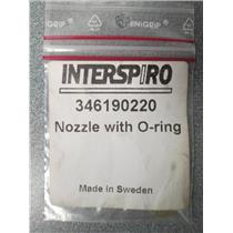 Interspiro 346190220 Nozzle with O-Ring Replacement Part SCBA Tank & Pack Set Up
