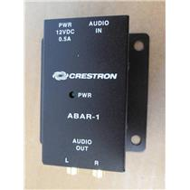 Crestron ABAR-1 Balanced Audio Receiver w/no Power Supply  **NEW**