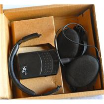 AVNT NQ100 NQ 100 TELECOM HEADSET w/HEADPHONES - USED, IN BOX, WITH GUARANTEE