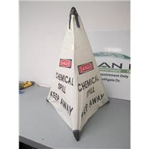 Handy Cone Danger Chemical Spill Pop Up Collapsible Signage