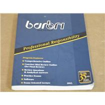 Barbri Bar Review  0-314-14284-3  Professional Resposibility 2003 Paperback