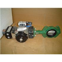 "Crane Actuator w/ 3"" Butterfly Valve CRS02508B0000"