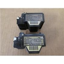 **Pack of 2** Fuji Electric  4NKORS  Type TK-5-1N  Thermal Overload Relays