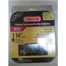 """Oregon Model # S52  14"""" Chainsaw Chain."""