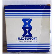 FLEX-SUPPORT LARGE ELASTIC KNEE SUPPORT, 408 LARGE, LATEX FREE, NEW IN BOX