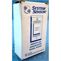 #2 SYSTEM SENSOR RA400Z REMOTE LED ANNUNCIATOR - NEW