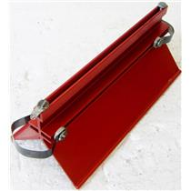"DAEDALON CORP TRACK GLIDER, RED 7"" LONG, CLASSROOM PHYSIC TEACHING COMPONENT"