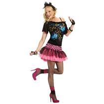 80s Pop Party Women's Costume Size M/L 10-14