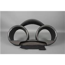 2008-11 Toyota Highlander Speedometer Cluster Dash Bezel w/ 3 Clusters & Chrome
