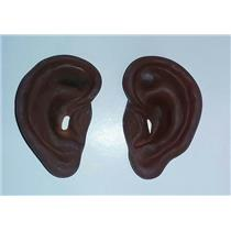 "4"" Super Jumbo Black Big Brown Ears Costume Accessory"
