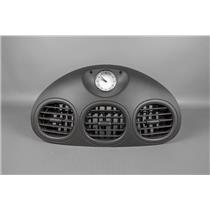 2000 Chrysler LHS Vent Dash Trim Bezel with Vents & Analog Clock