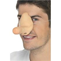 Long Comedy Funny Fake Latex Nose Costume Accessory