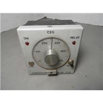 CEG Temperature Controller TC15 0-500 Deg. F