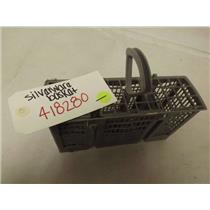 BOSCH DISHWASHER 00418280 SILVERWARE BASKET USED
