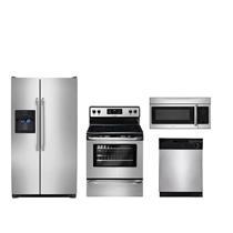 Frigidaire Kitchen Package FFSS2614QS FFEF3048LS FFBD2400KS FFMV164LS NEW