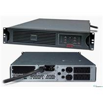 APC SUA3000RM2U Smart-UPS Power Backup 3000VA 2700W 120V 2U Rackmount 2u NOB