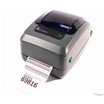 Zebra GX420t GX42-100310-000 Thermal Barcode Label Printer USB Parallel 203DPI