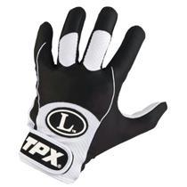 Louisville Slugger TPX Freestyle 1.0 Youth Baseball Batting Glove Size L WHT/BLK