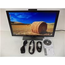 "Dell U2417H 24"" 16:9 IPS InfinityEdge Monitor W/WARRANTY TO 07/27/2021"