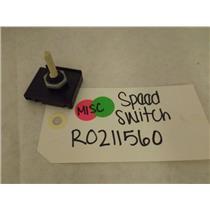 MAYTAG WHIRLPOOL DEHUMIDIFIER R0211560 SPEED SWITCH NEW