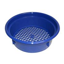 "Keene Engineering Economy Stackable Classifying Sieve Blue 9/16"" Made in USA"