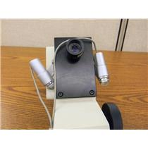 Used: Unbranded/Generic Microscope Viewer with lights  2x Eyepiece Parts