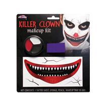 Evil Killer Clown Big Mouth Makeup Kit