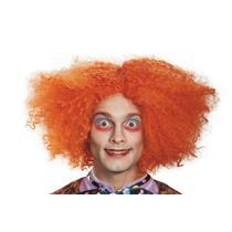 Alice Wonderland Mad Hatter Deluxe Orange Adult Wig