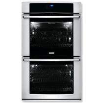 Electrolux 30 Inch Double Electric Wall Oven Stainless and black EW30EW65PS