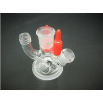New/Open Box: Chemglass 6-Neck Reaction Vessel Lid Laboratory Glassware GSK-0409-101MS