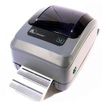 Zebra GX430T GX43-100411-000 Thermal Barcode Label Printer USB Network Peeler