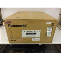 Panasonic PT-RW630LWU 6500-Lumen WXGA DLP Projector (White) - SEALED
