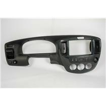 2001-2006 Mazda Tribute Dash Trim Bezel w/ Vents 12 Volt Mirror & AC Switch