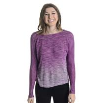 S NWT Woodleigh Cassandra Dolman Top Fuchsia Ombre Knit Tulip Wrap Open Back