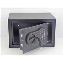 BARSKA AX12616 Compact 0.36 cu. ft. Steel Keypad Safe with Digital Keypad, Black